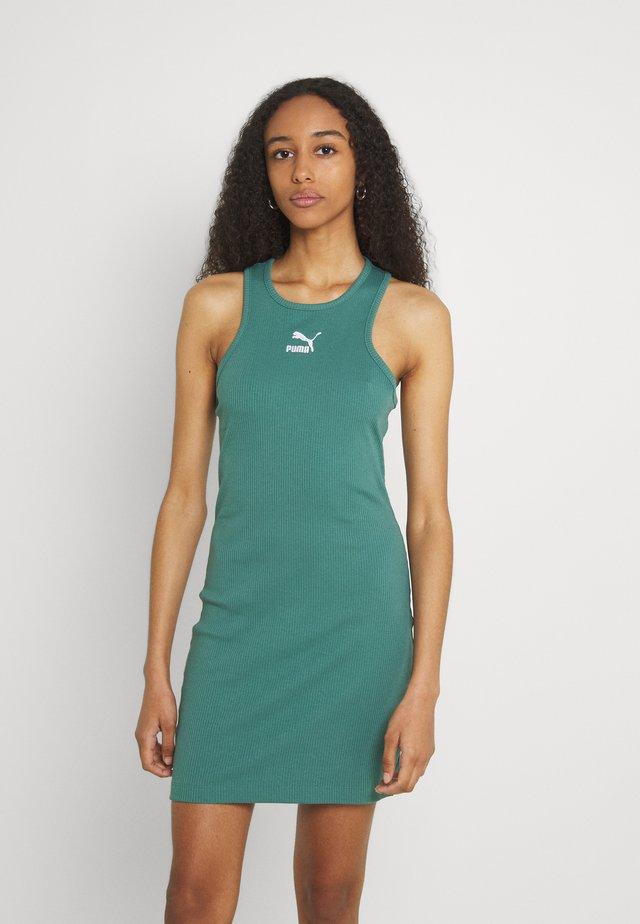 CLASSICS SUMMER DRESS - Sukienka z dżerseju - blue spruce