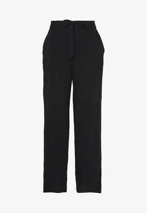ONLNOVA LIFE PALAZZO PANT SOLID - Trousers - black