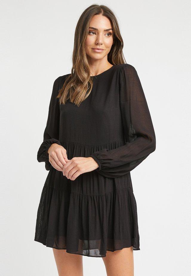 AU JULIA DRESS - Korte jurk - z2-noir