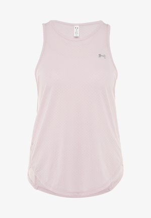 SPORT GRAPHIC TANK - Sports shirt - pink fog/metallic silver
