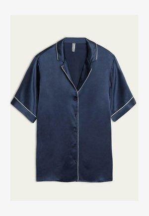 MIT KONTRASTKANTEN - Pyjama top - blu ink
