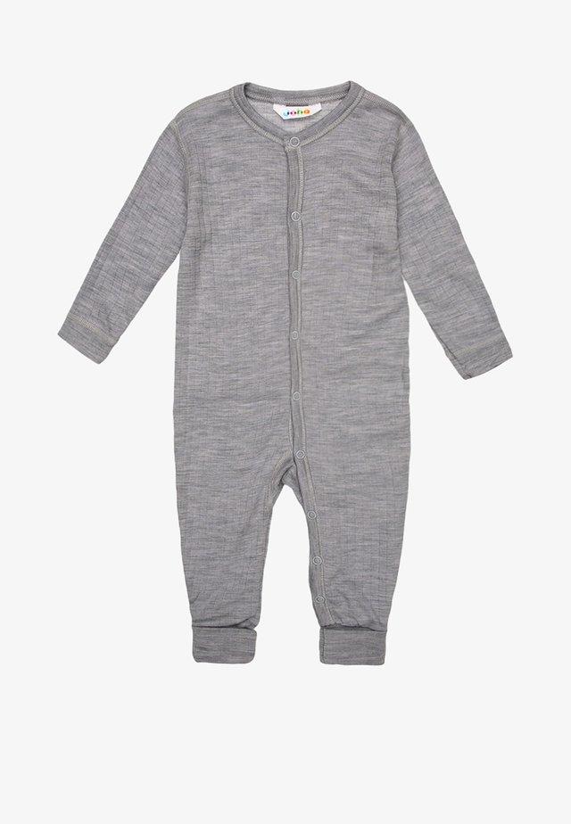 Pyjama - hellgrau meliert