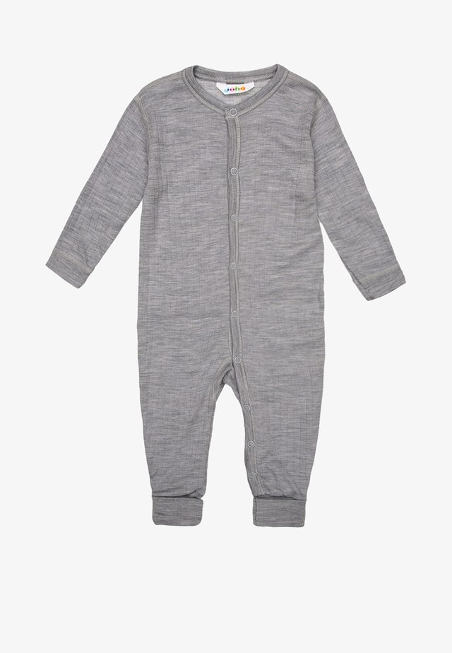 Pyjamaser - hellgrau meliert