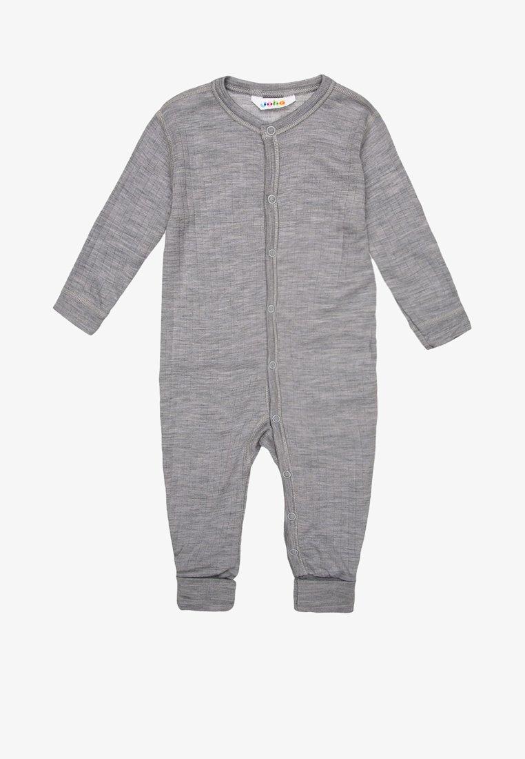 Joha - Pijama - hellgrau meliert