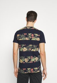 INDICODE JEANS - EPSLEY - Print T-shirt - navy - 2