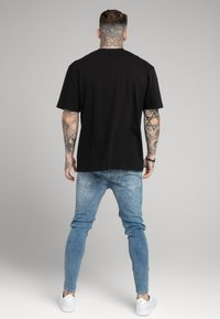SIKSILK - DISTRESSED ELASTICATED - Jeans Skinny Fit - washed raw blue - 2