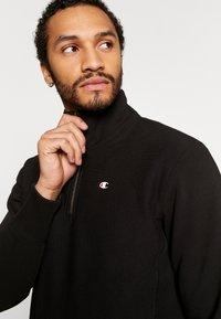 Champion Reverse Weave - HALF ZIP - Sweatshirt - black - 3