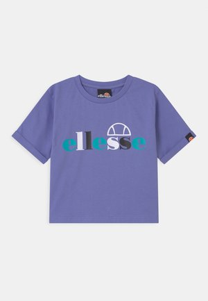 GIANDUIA CROP  - Print T-shirt - purple