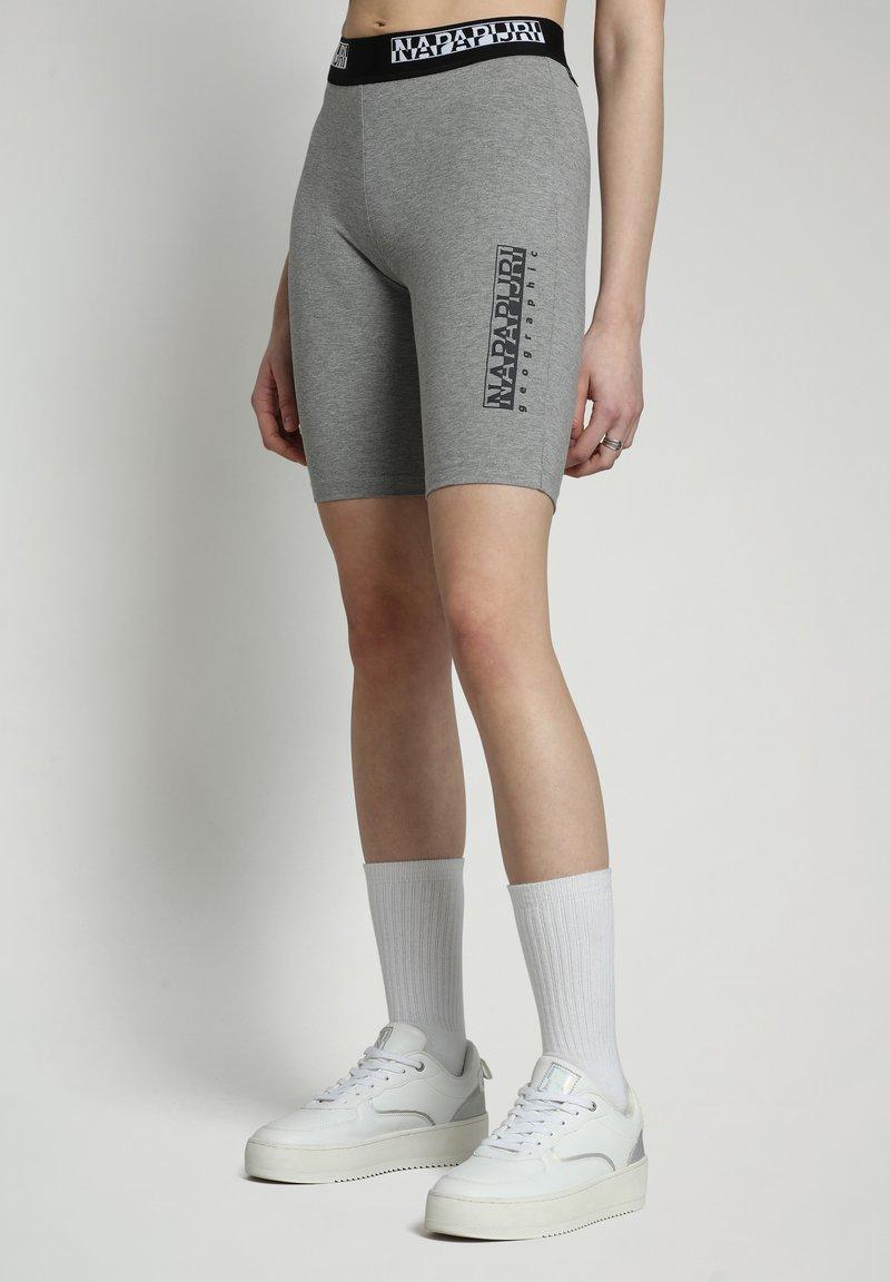 Napapijri - Shorts - medium grey melange