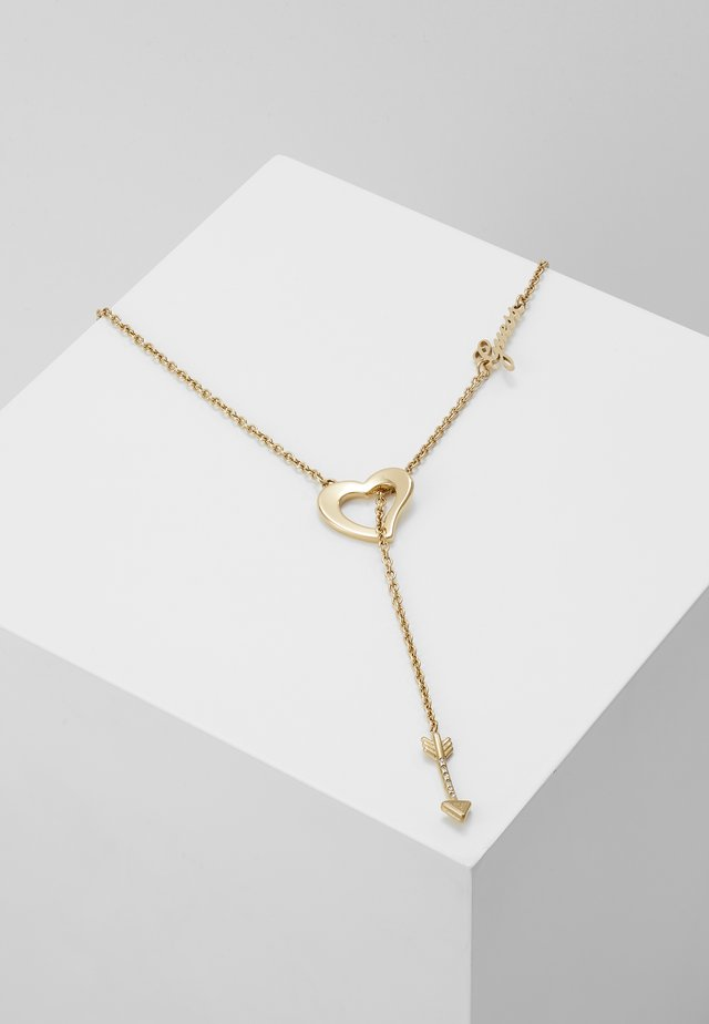 ACROSS MY HEART - Collier - gold-coloured