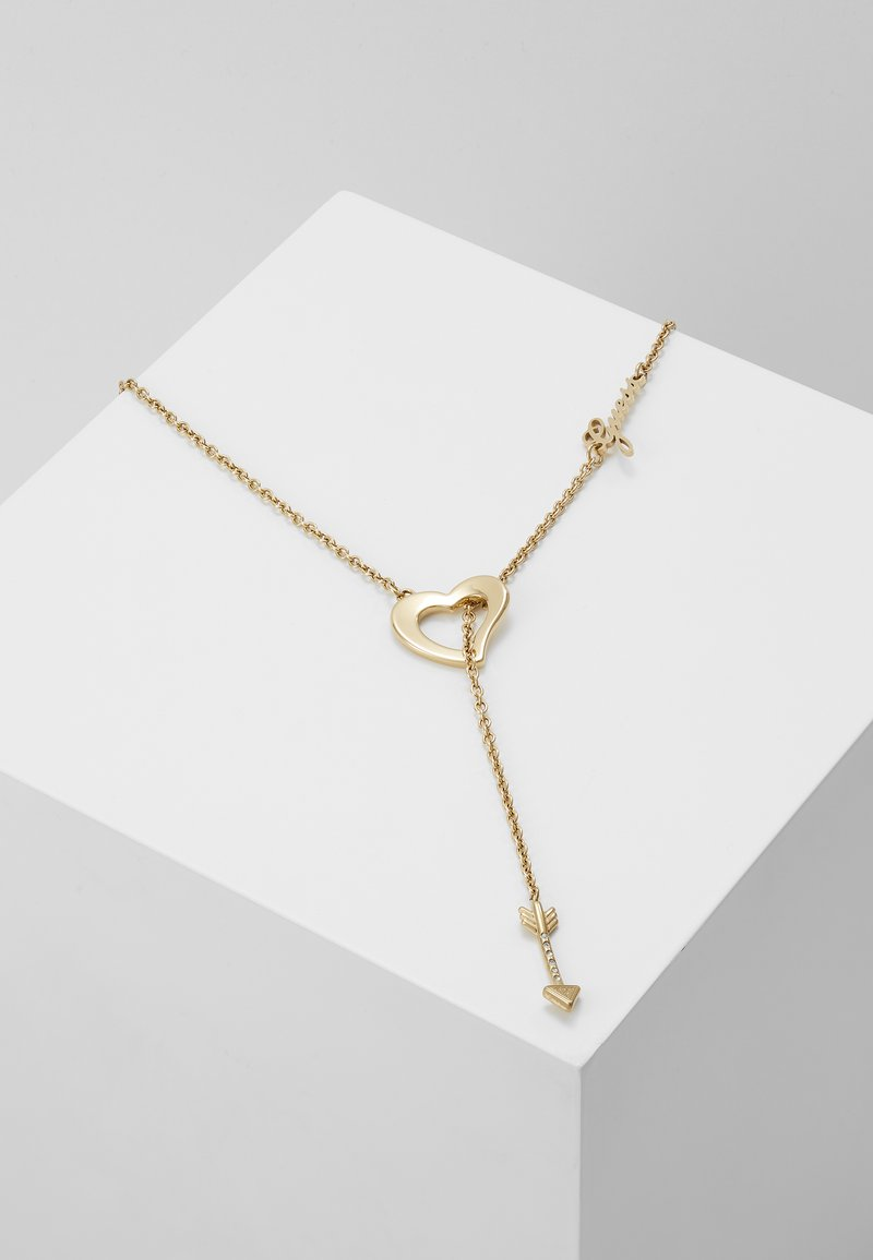Guess - ACROSS MY HEART - Necklace - gold-coloured