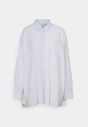 RIVIERA OVERSIZED  - Button-down blouse - blue/white