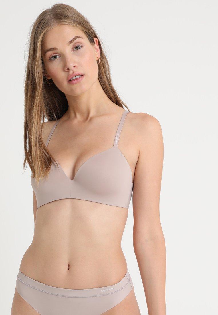 Calvin Klein Underwear - LIGHTLY LINED DEMI - Reggiseno - grey