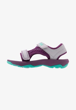 Walking sandals - gloxinia/iris