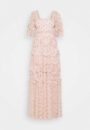 BIJOU SMOCKED GOWN - Occasion wear - paris pink