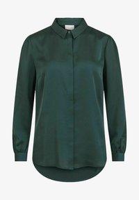 Vila - VIELLETTE - Button-down blouse - darkest spruce - 5