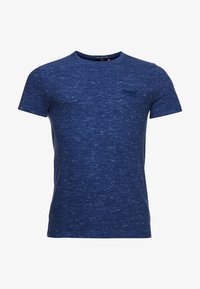 Superdry - VINTAGE  - T-Shirt basic - tidal blue spacedye - 3
