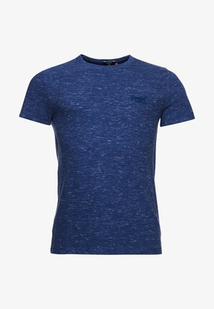 VINTAGE  - T-shirts basic - tidal blue spacedye