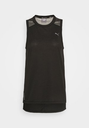 TRAIN PANEL TANK - T-shirt de sport - black