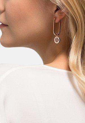 Earrings - rosé