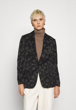 LEHDOT MINI UNIKKO COAT - Blazer - black/dark grey