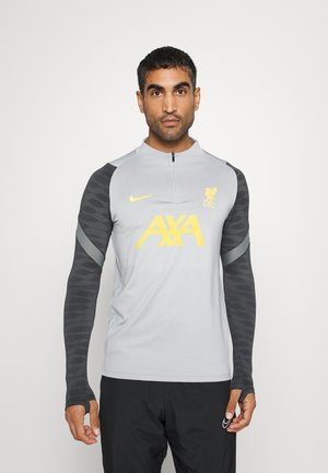 LIVERPOOL FC DRIL CL - Club wear - wolf grey/smoke grey/chrome yellow