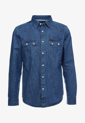 RIDER - Koszula - dipped blue
