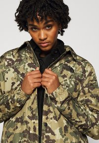 The North Face - TELEGRAPHIC COACHES JACKET - Parka - burnt olive green - 3