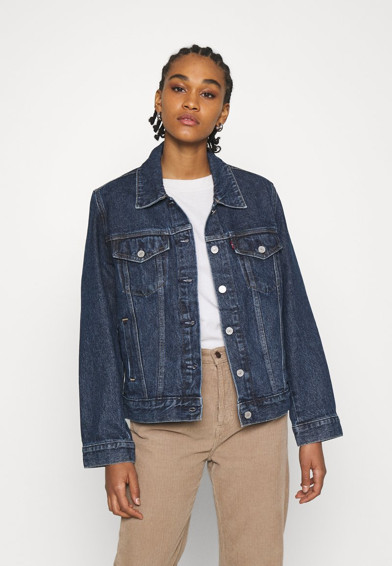Levi's® - ADJUST - Denim jacket - twilight poppy