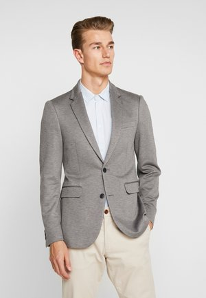 Suit jacket - grey melange