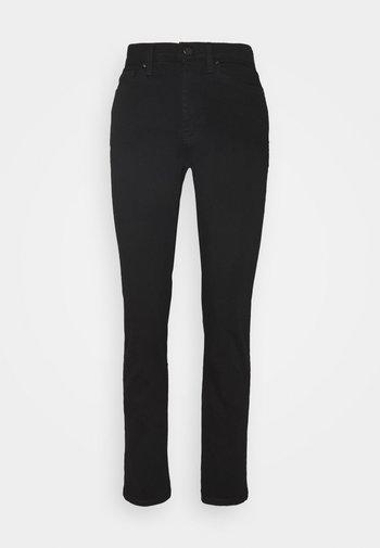 STRAIGHT LEG - Straight leg jeans - black denim