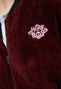 Homeboy - POODLE - Fleece jacket - bordeaux - 7