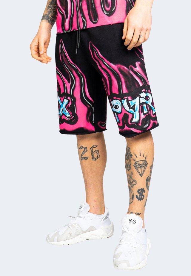 GAMBA - Shorts - black