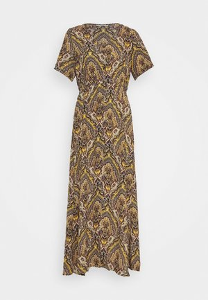 ONLHANNA S/S ANCLE DRESS WVN - Maxi šaty - gold