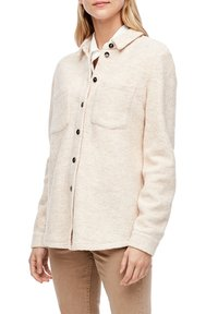 s.Oliver - Button-down blouse - light sand melange - 6
