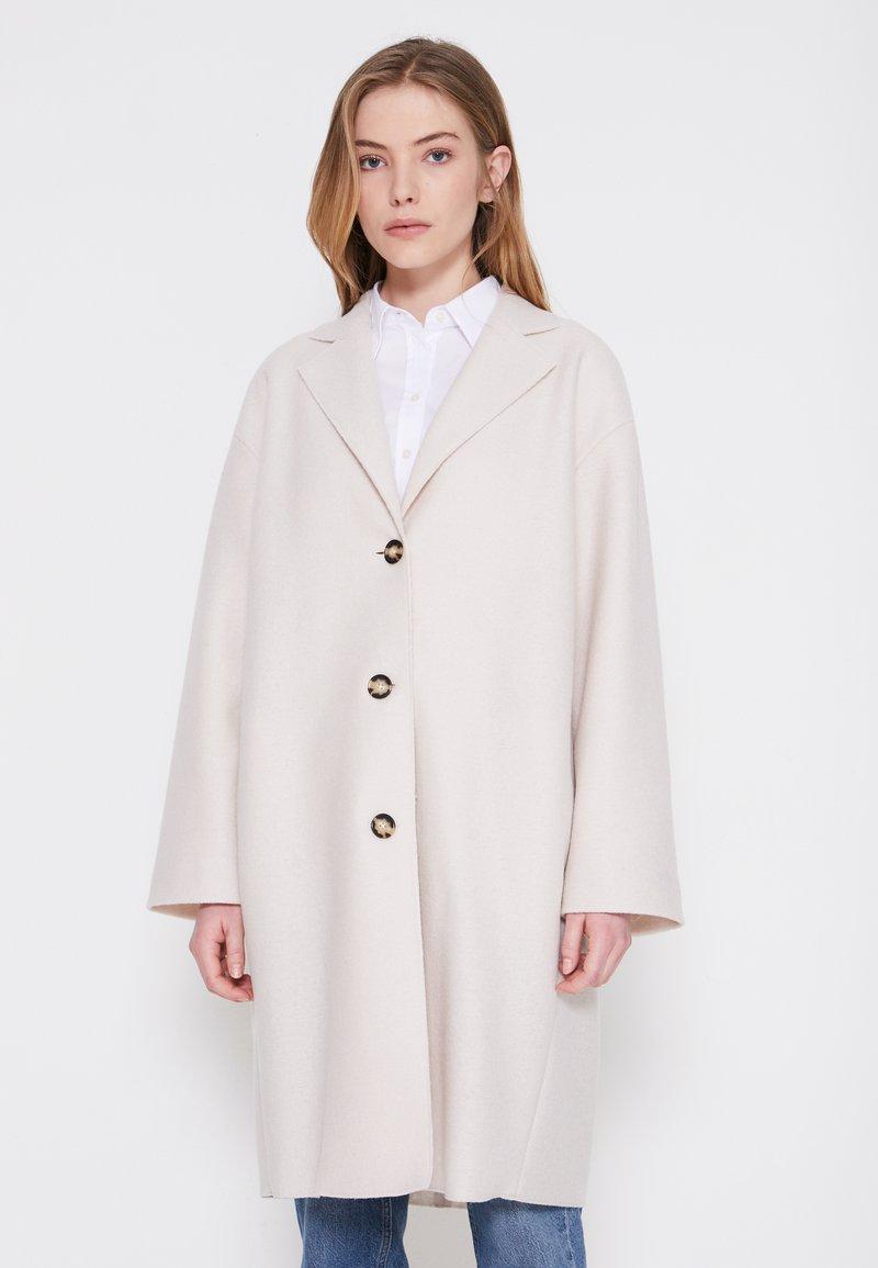 Marc O'Polo - SINGLE BREASTED - Classic coat - natural white