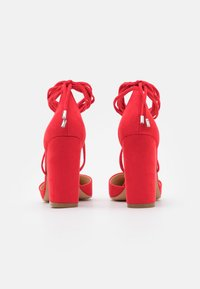 Even&Odd - Lace-up heels - red - 3