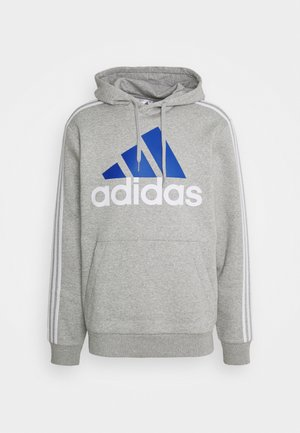 Sweatshirt - medium grey heather/white