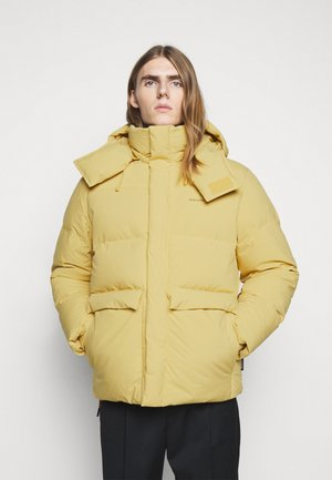 DOVRE DOWN JACKET - Down jacket - light yellow