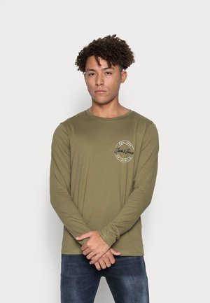 JORJERRY TEE CREW NECK  - Långärmad tröja - khaki