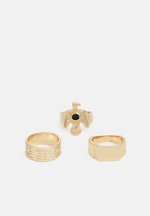 EAGLE RING 3 PACK - Ring - gold-coloured