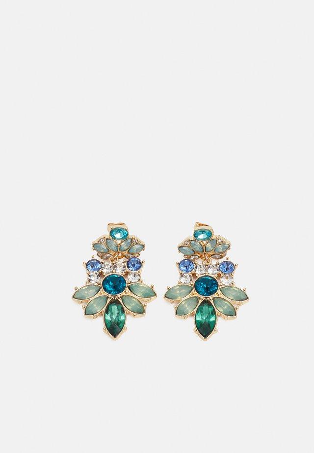 PCZAREEN EARRINGS - Orecchini - gold-coloured/multi