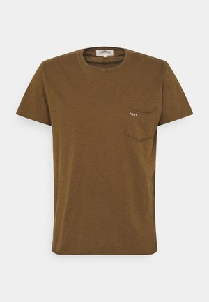 ESSENTIAL UNISEX - Basic T-shirt - brown tabacco
