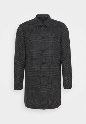 ONSADAM MAXIMILLIAN CHECK COAT - Zimní kabát - dark grey melange