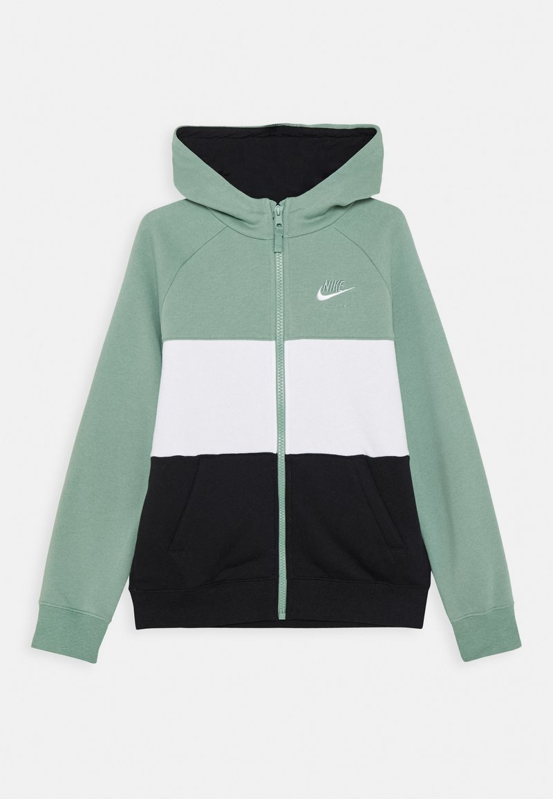 Nike Sportswear - AIR - Mikina na zip - silver pine/black/white