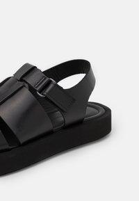 By Malene Birger - KLEVA - Platform sandals - black - 6