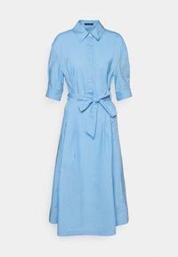 Marc O'Polo - DRESS STYLE BELTED WAIST - Shirt dress - blue - 0