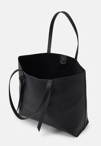 Pieces - PCGENNY SHOPPER - Tote bag - black - 2