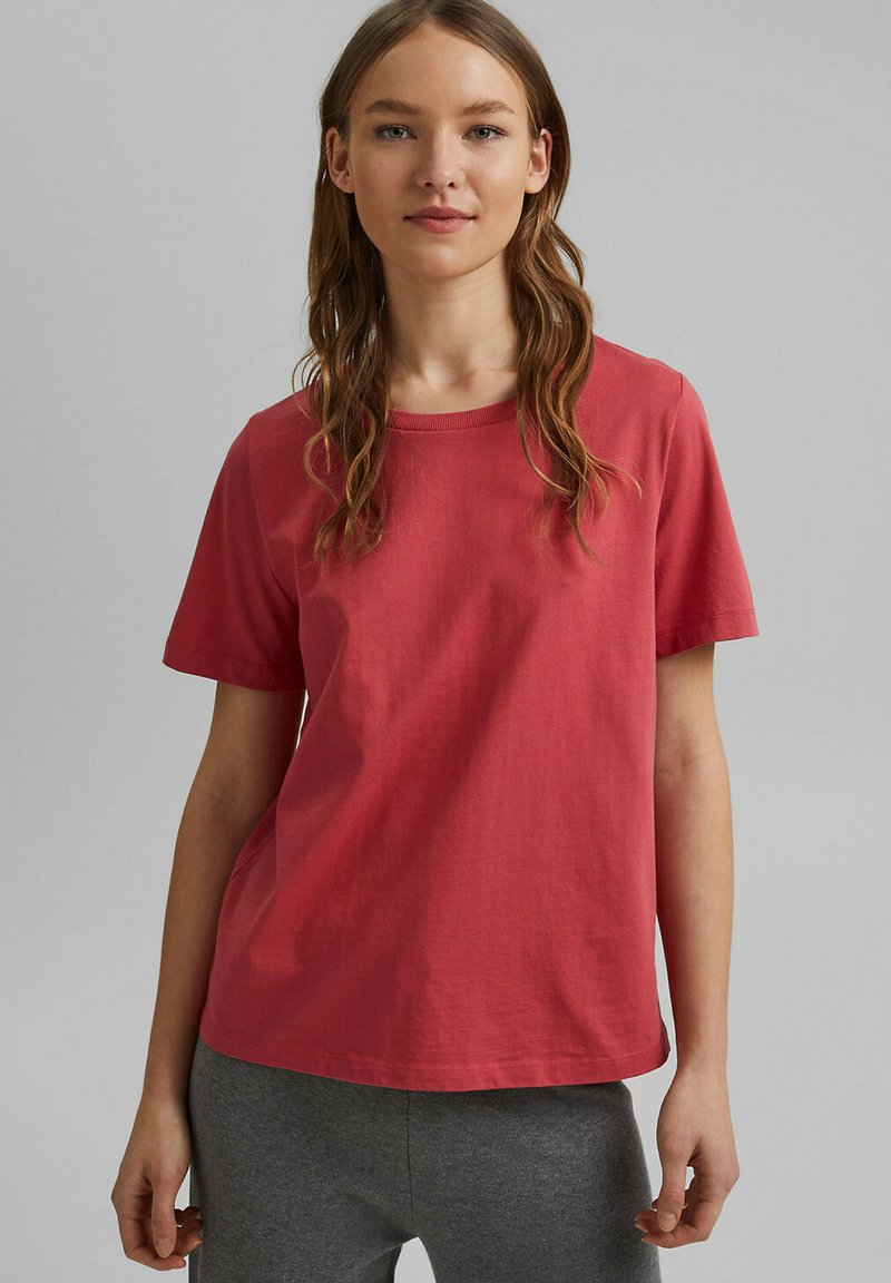 edc by Esprit - Basic T-shirt - red