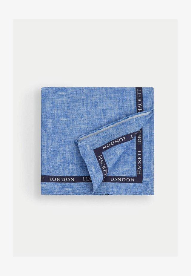 BOARDER SELVEDGE HANK - Scarf - blue